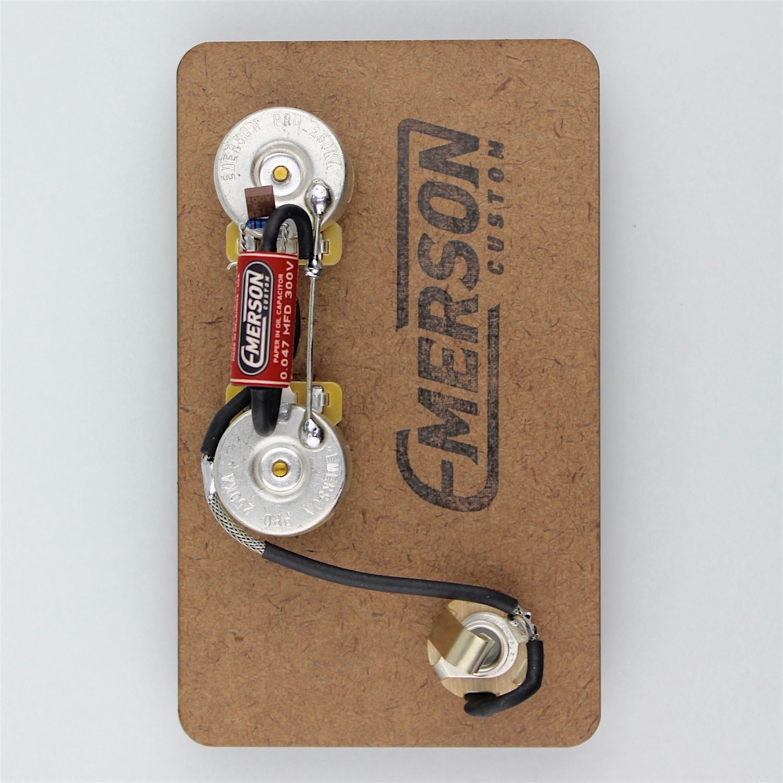 emerson custom precision bass prewired kit