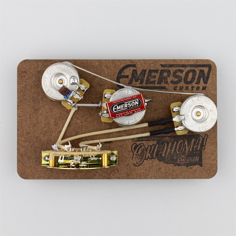 Emerson Custom Blender 5 Way Strat Prewired Kit on